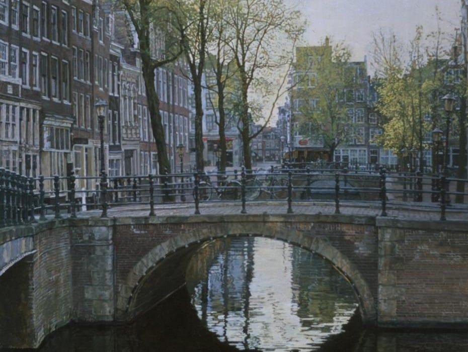 Amsterdam, Blauwburgwal