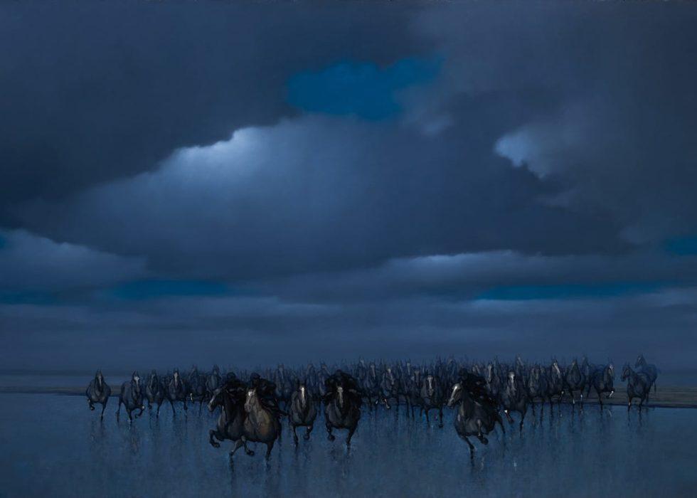 De bevrijding van de paarden van Marrum