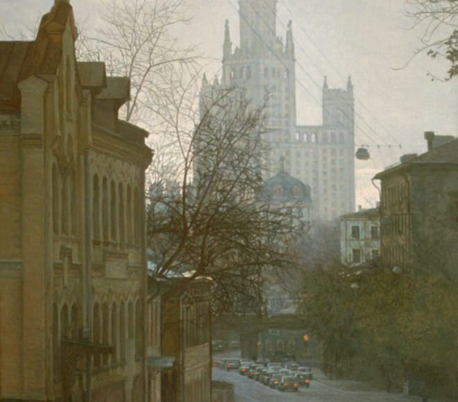 Moscow. Nikolo-Yamskaya street