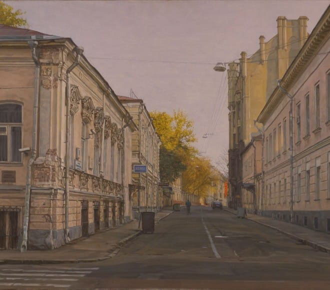 Sunday Moscow. Maliy Kharitonievskiy pereulok