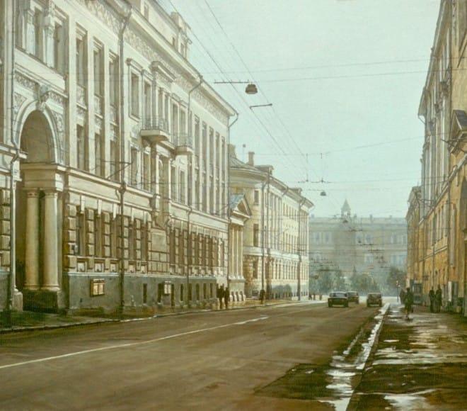 Sunday's Moscow. Bolshaya Nikitska