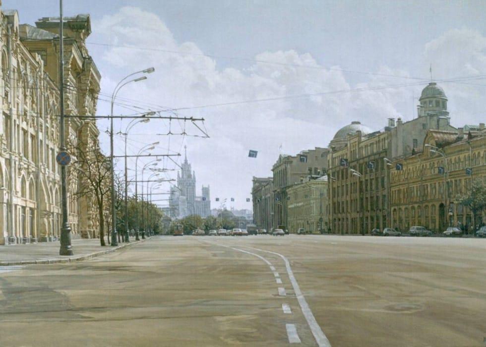 Sunday's Moscow. Novaya ploshad